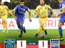 Kerala Blasters FC vs Mumbai City FC