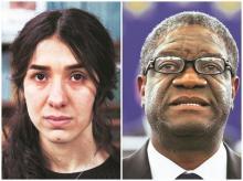 Nadia Murad, Denis Mukwege
