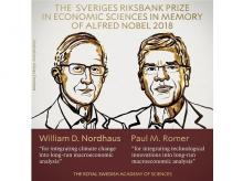Sveriges Riksbank Prize in Economic Sciences 2018
