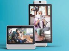 Facebook video chat device, portal, facebook
