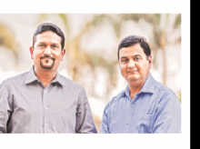 Co-founders Pankit Desai and Anand Naik