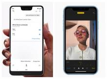 Google Pixel 3 and Apple iPhone XR