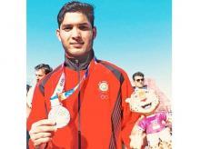 Suraj Panwar, Youth Olympics 2018 men's 5000m silver medallist