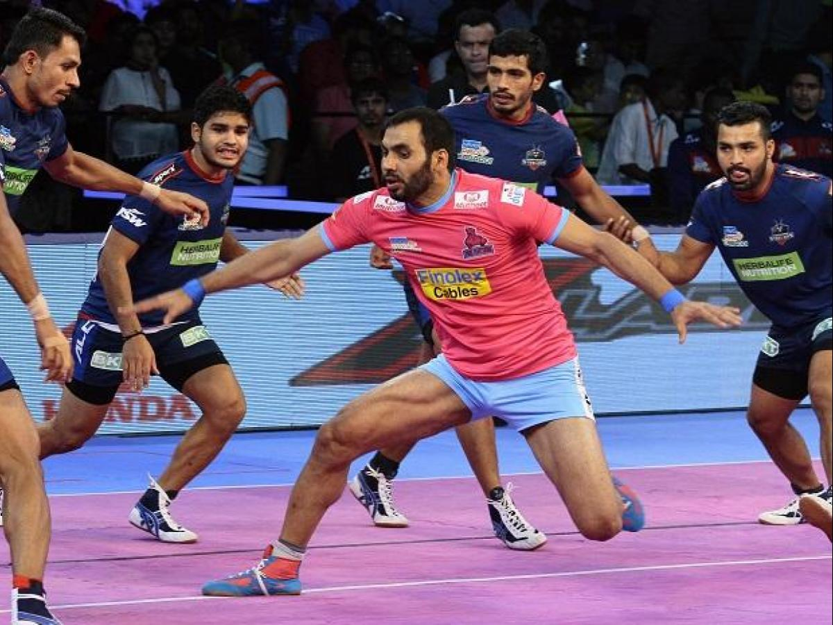 Pkl 2018 Day 9 Highlightsjaipur Pink Panthers Beat Haryana