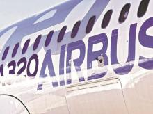 Airbus, A320neo engine, plane, aircraft