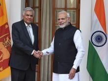 narendra modi, pm modi, sri lankan PM, ranil wickremesinghe,