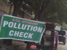 Pollution check, pollution check certificate