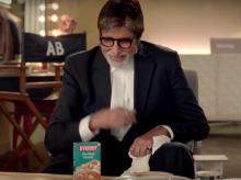 Amitabh Bachchan in Everest ad