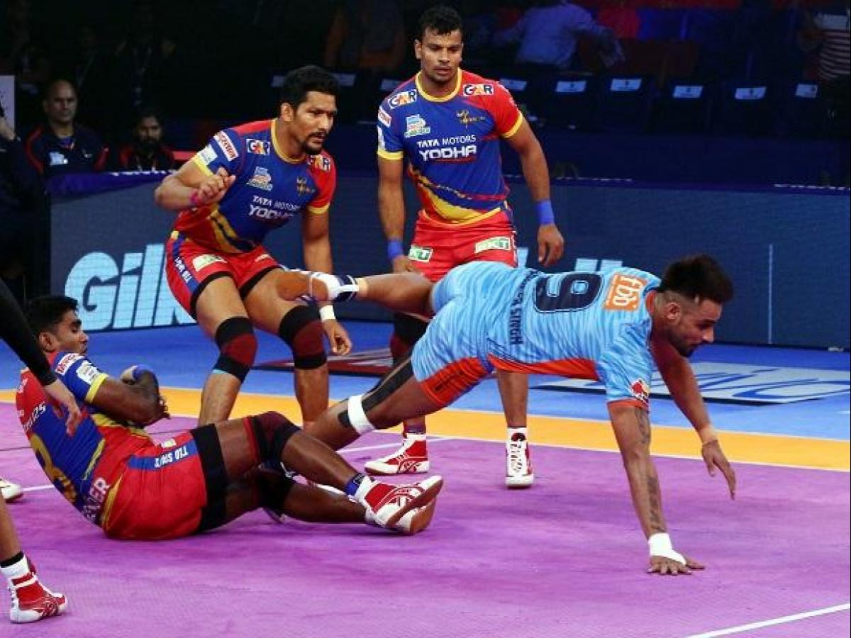 Pkl 2018 Highlights Day 25 Up Hold Bengal Warriors To A