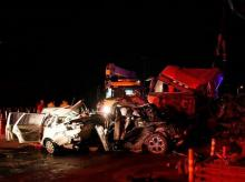China highway accident