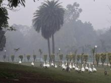 Air Pollution in Delhi at 'very poor' again as winter approaches
