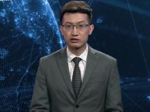 Xinhua news anchor