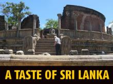 The Vatadage in Polonnaruwa, which probably once held a relic of the Buddha