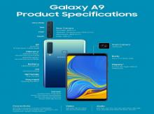 Galaxy A9 (2018) specifications