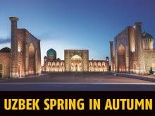 Registan  in Samarkand could well be the loveliest square in Central Asia
