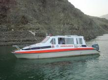 boat ambulance, GVK-EMRI, GVK-EMRI in Assam