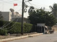 Chinese consulate in Karachi