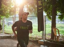 Nike Run Club coach Daniel Vaz