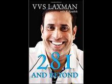 VVS LAXMAN BOOK, BOOK 281 AND BEYOOND, BOOK, 281 AND BEYOND, VVS LAXMAN, LAXMAN