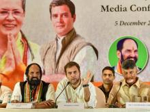 telangana polls, congress TDP alliance, chandrababu Naidu, rahul gandhi