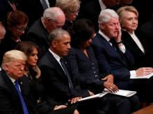 George H W Bush funeral