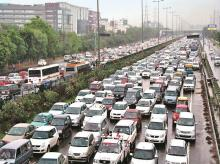 Car, vehicles, automobiles, traffic jam