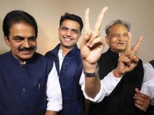 Sachin pilot, Ashok Gehlot, Congress jaipur, K C Venugopal