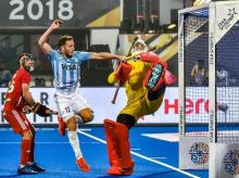 Hockey World Cup 2018, Argentina vs England