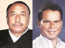 Bijay Mohapatra (left) and Dilip Ray recently quit the BJP after being sidelined in the party for a couple of years