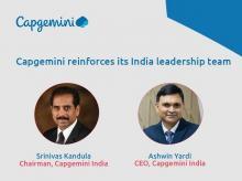 capgemini, Srinivas Kandula,  Kandula, Srinivas, capgemini chairman, Ashwin Yardi, Yardi, capgemini ceo