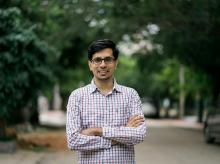 Anand, co-founder of Vogo