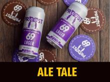 Proost69's White Ale and Mild Lager make you long for a hot summer's day