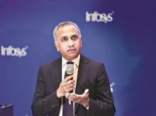 Infosys CEO & MD Salil Parekh