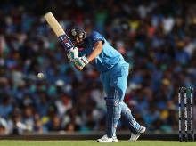 Rohit Sharma plays a shot. Photo: BCCI