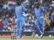 India vs Australia 2018-19, Rohit Sharma, MS Dhoni