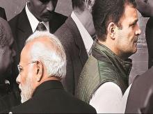 Narendra Modi, Rahul Gandhi