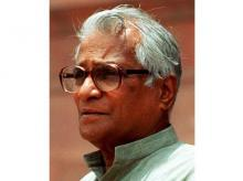 File photo of former defence minister George Fernandes. Photo courtesy: Wikipedia