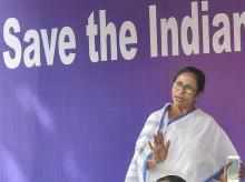 Mamata Banerjee at Save Indian Constitution Rally