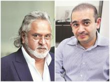 Currently, the ED is seizing assets linked to offenders, including Vijay Mallya (left) and Nirav Modi