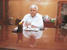 R S Sharma, trai chief