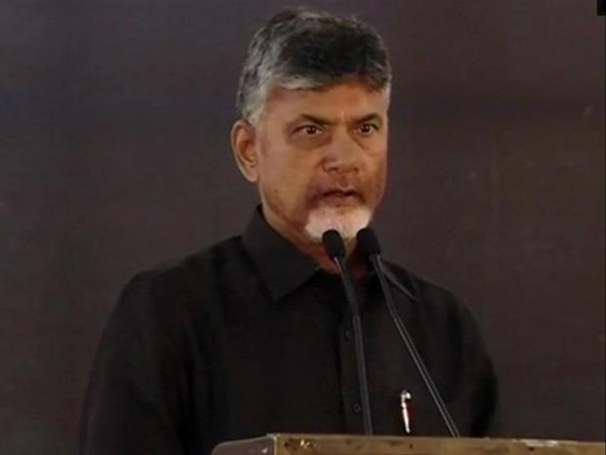 Andhra Pradesh CM Chandrababu Naidu approaches EC over EVM