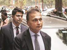 Anil Ambani, Anil Ambani at Supreme Court