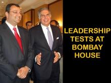 OFF GUARD: Cyrus Mistry with Ratan Tata before relations soured