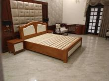 One of the bedrooms of Tejashwi Yadav's official bungalow