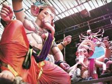 Ganesh Chaturthi, Ganesh idol