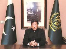 Pakistan PM Imran Khan.