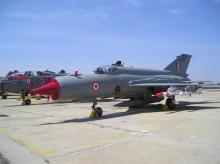 MiG-21 aircraft