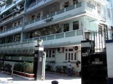 Former ICICI Bank MD & CEO  Chanda Kochhar's residence in Mumbai. Photo: Kamlesh D Pednekar