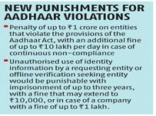Ordinance to allow voluntary use of Aadhaar to rekindle privacy debate
