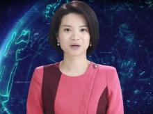 Xinhua female AI news anchor